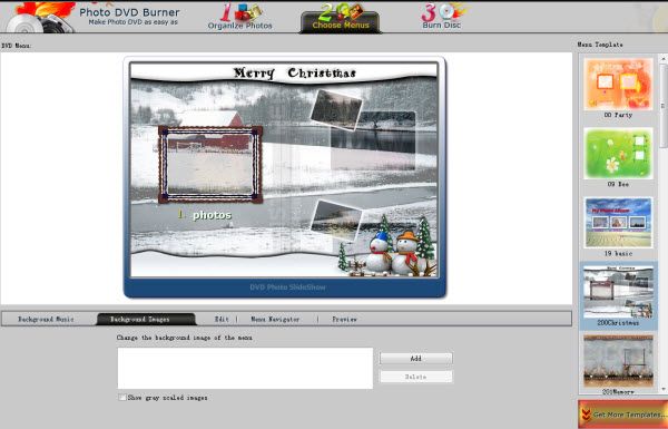 Create VCD Photo Slideshow
