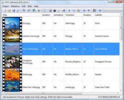 Best Photo DVD Slideshow Maker - DVD slideshow GUI