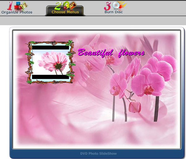 Create Photo Slideshow with Facebook photos