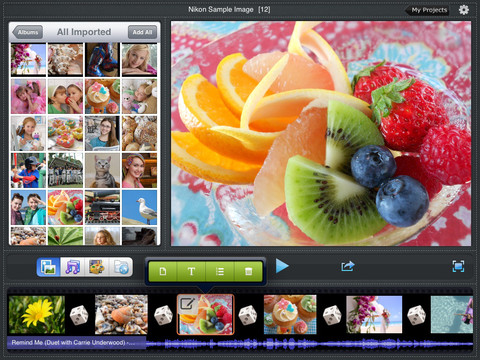 iPad slideshow app